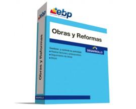 EBP Obras y Reformas Desarrollo en línea